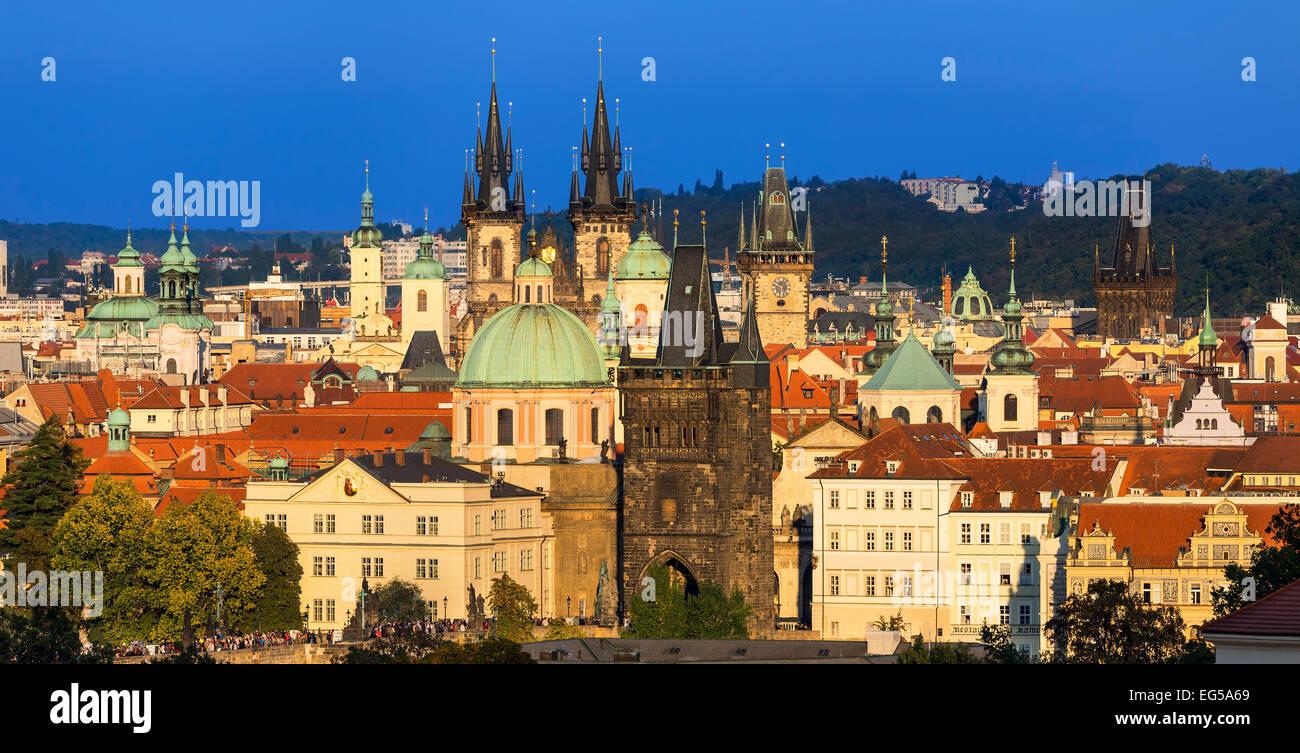 République tchèque, Prague, ville Photo Stock