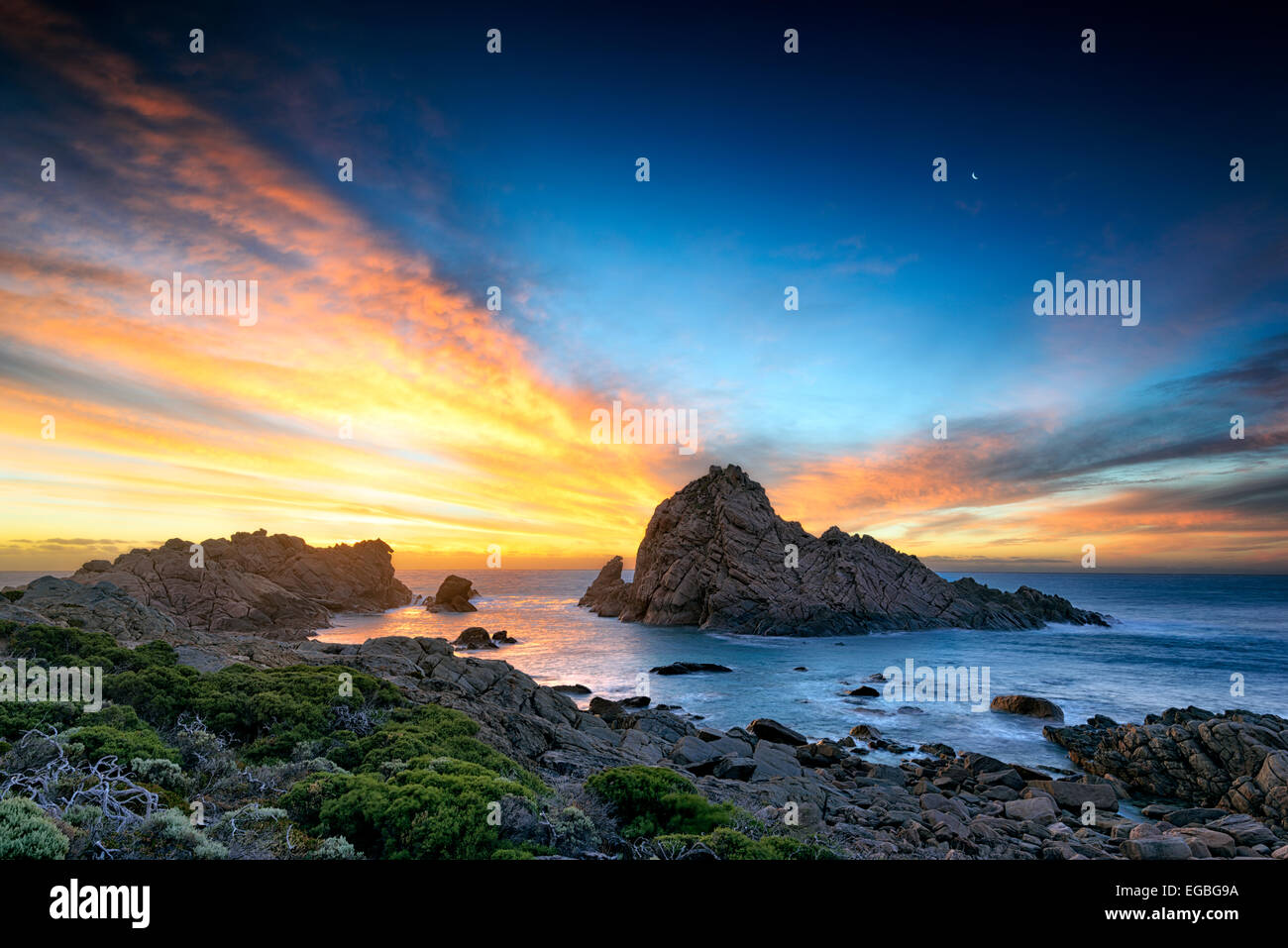 Donsborough Rock, Sugarloaf, Australie occidentale Photo Stock