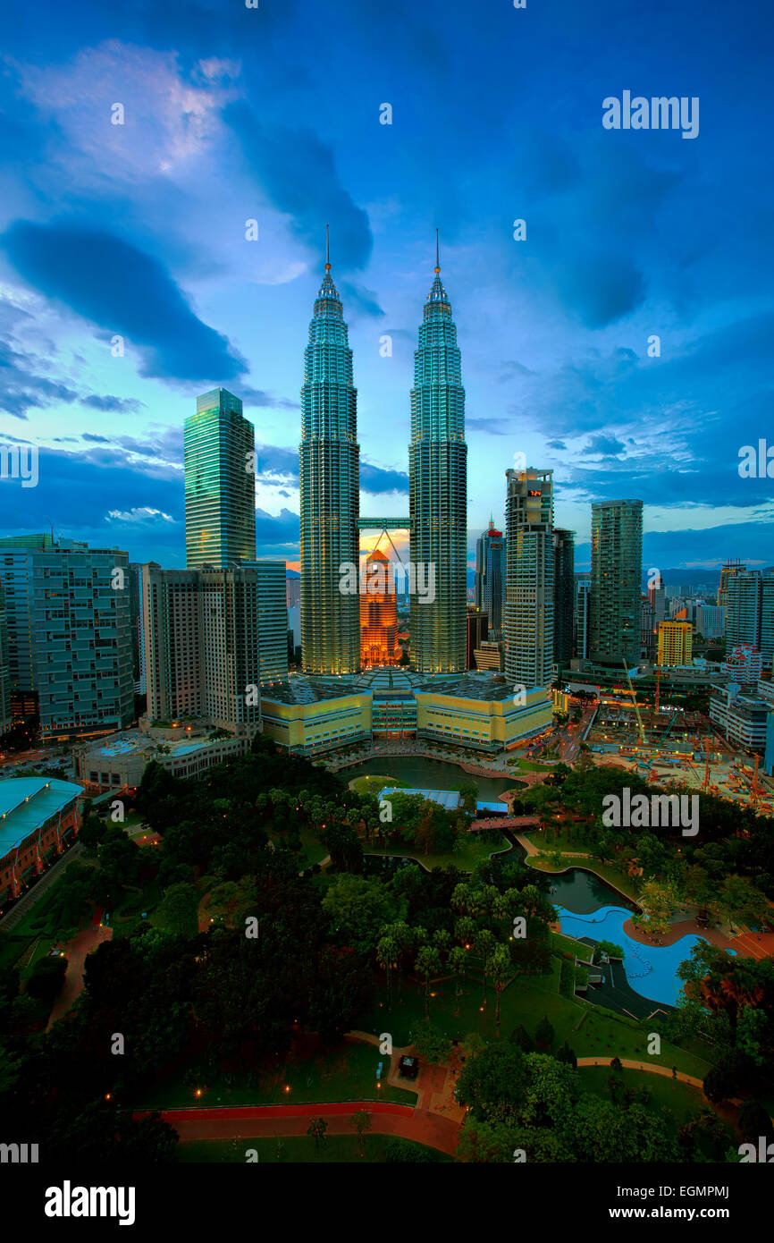 Kuala Lumpur Skyline Photo Stock