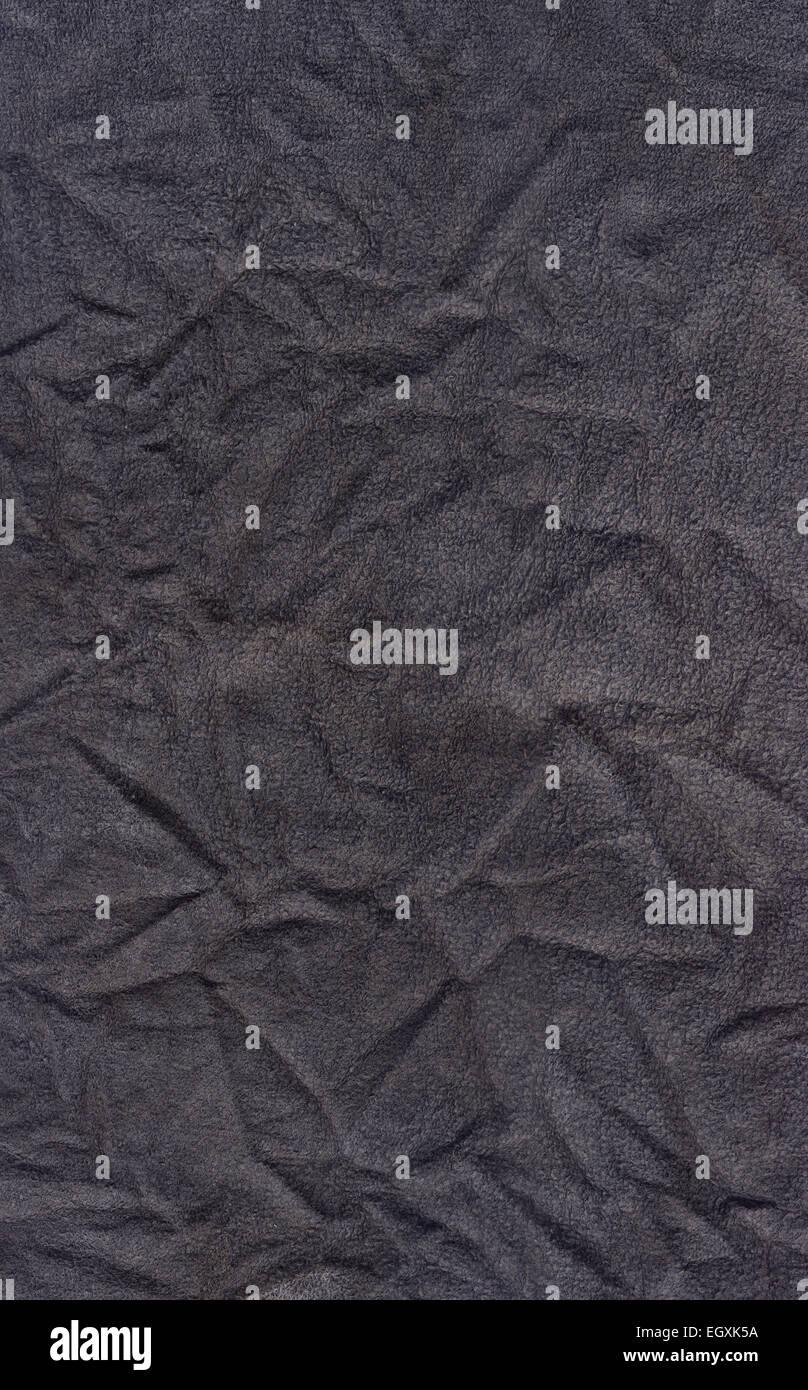 Texture tissu froissé sale Photo Stock