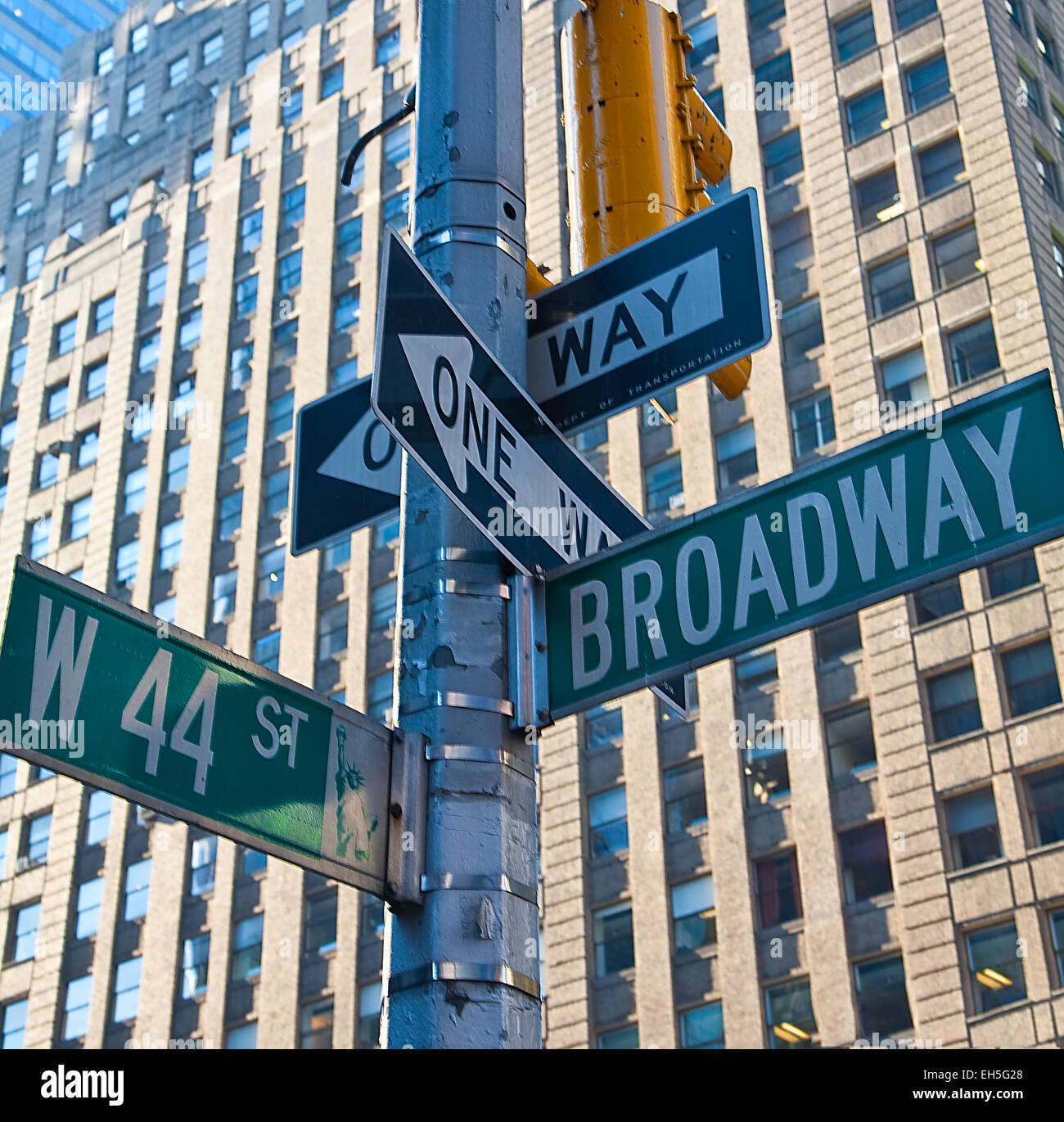 Signes de New York Photo Stock