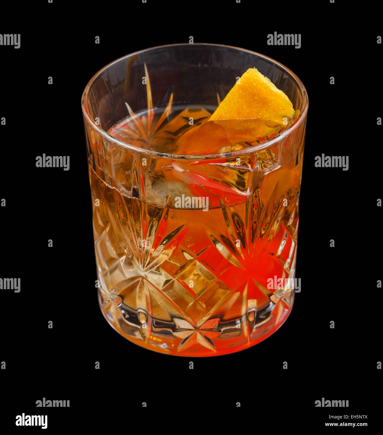 Old Fashioned verre Photo Stock