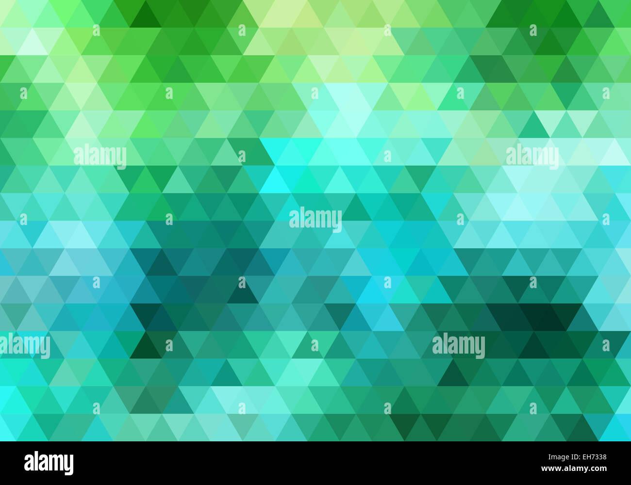 Les motifs abstraits, fond vecteur modèle triangle Photo Stock