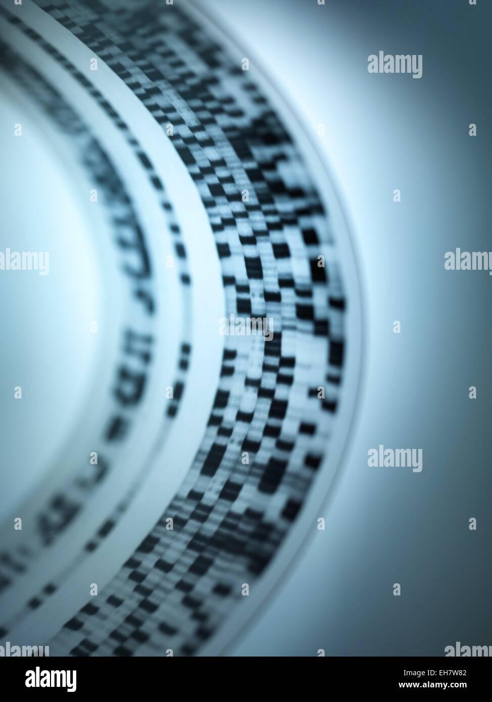 Recherche sur l'ADN Photo Stock
