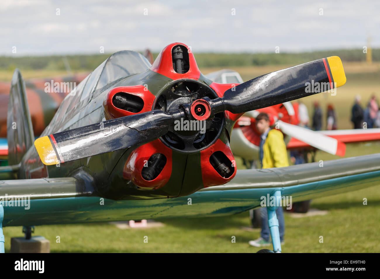 af9834842122 Fuselage Old Single Engine Aircraft Propeller Photos   Fuselage Old ...