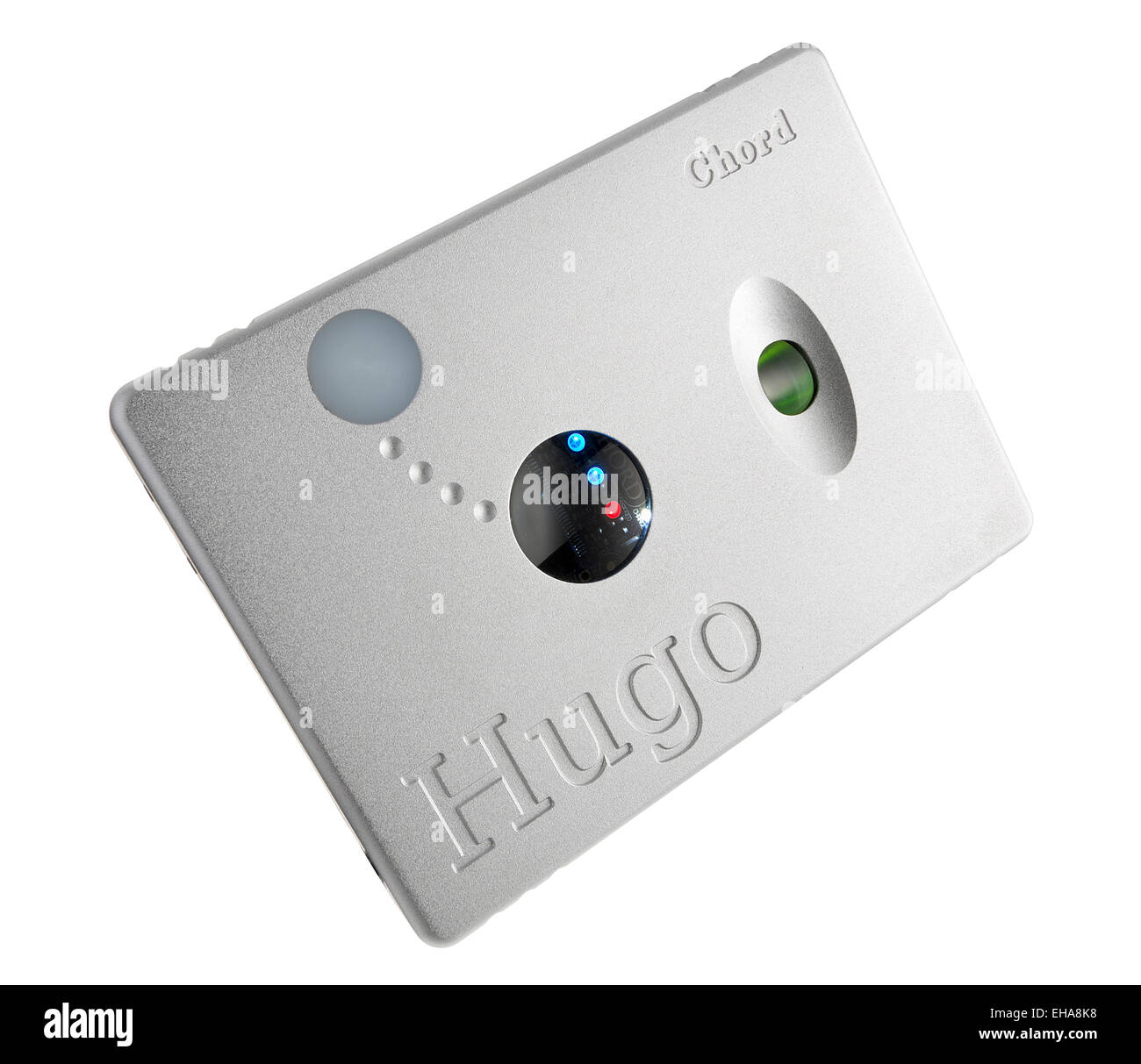 Hugo d'accord. Amplificateur de casque DAC / Mobile. Chord Electronics digital audio converter. Photo Stock
