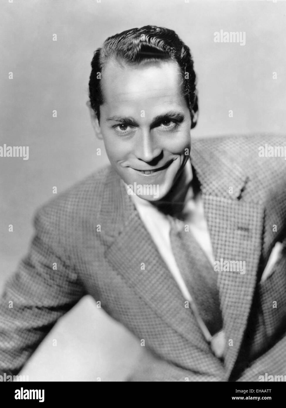 Franchot Tone, Portrait pour le film 'trois camarades', 1938 Photo Stock