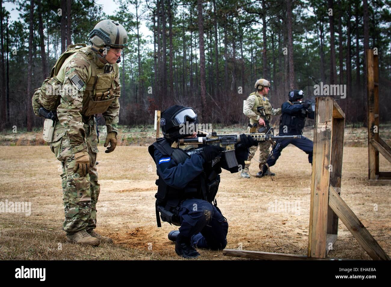 Des soldats des forces spéciales américaines en train de