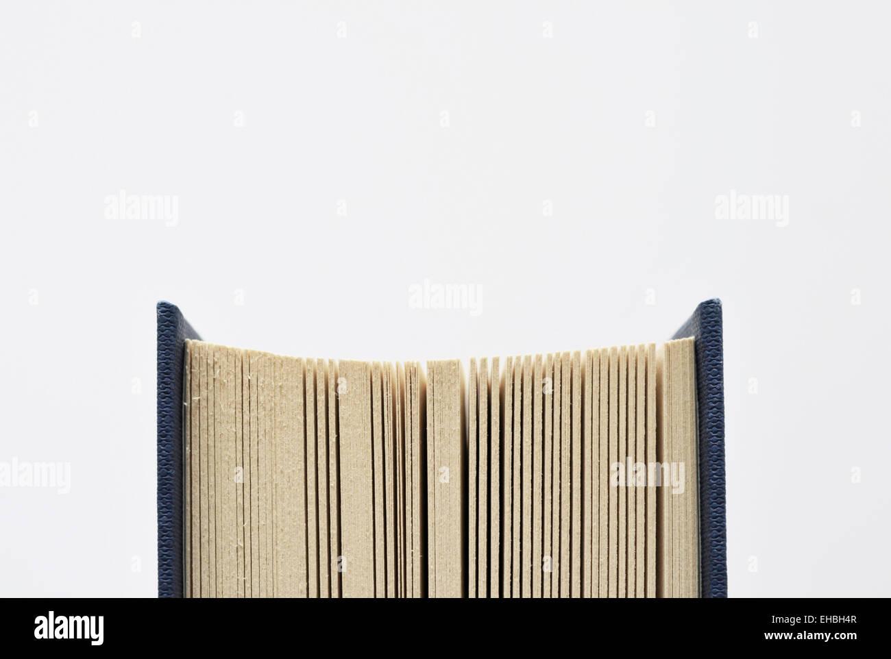 Détail du livre Photo Stock