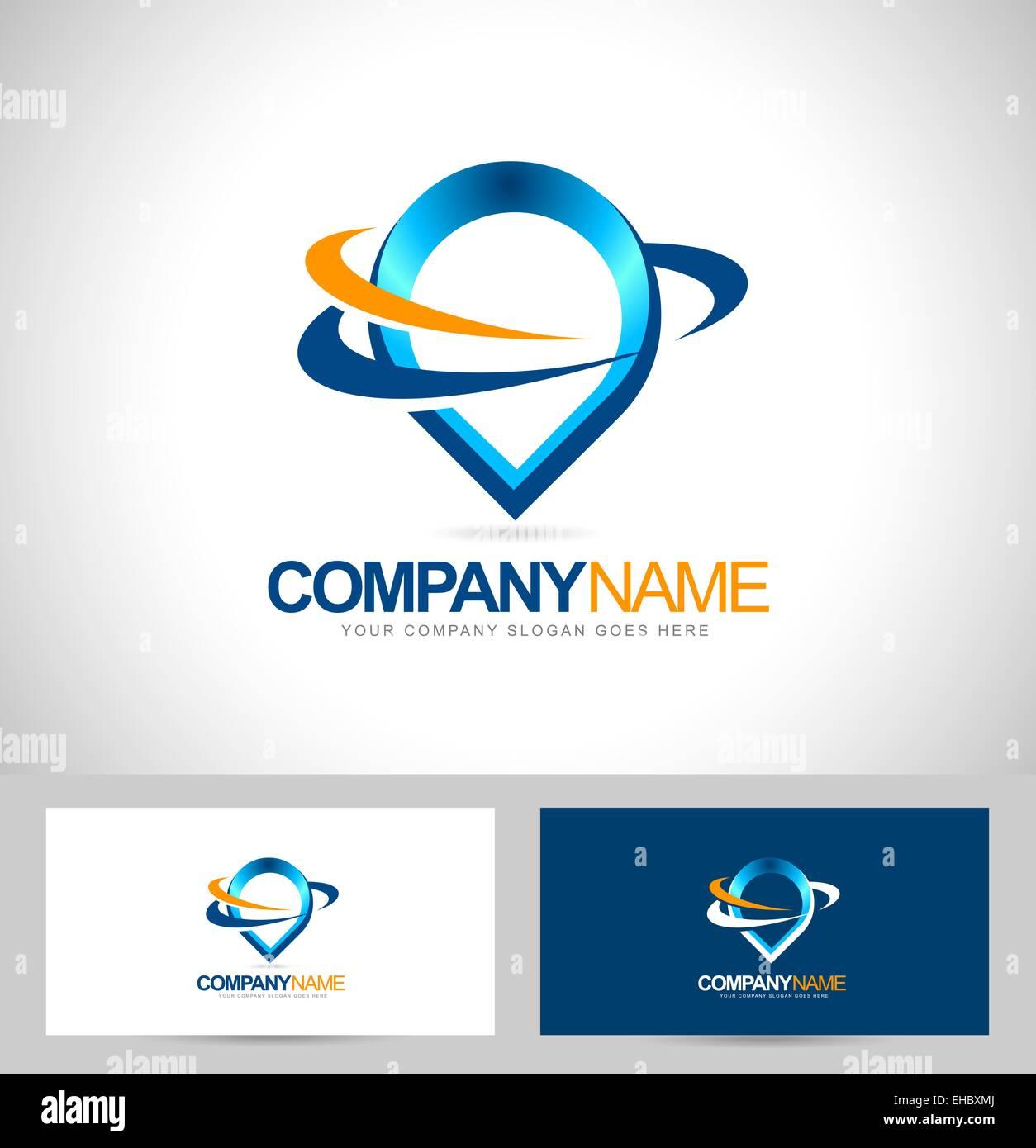 Conception De Logo Goutte Deau Cration Carte Visite Avec Vector