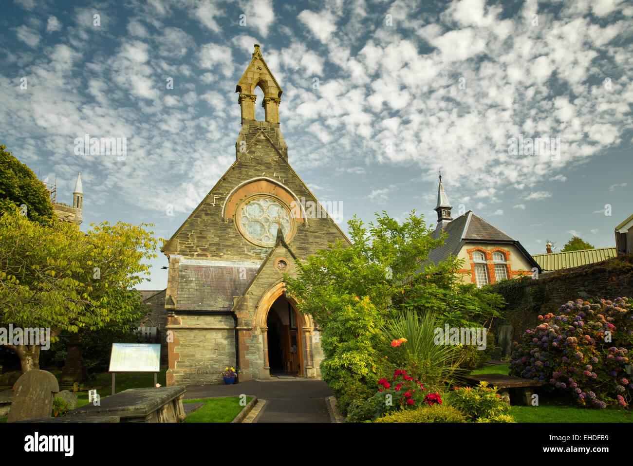 L'église Saint Augustin. L'Eglise d'Irlande (anglicane). Dublin, Irlande du Nord Photo Stock