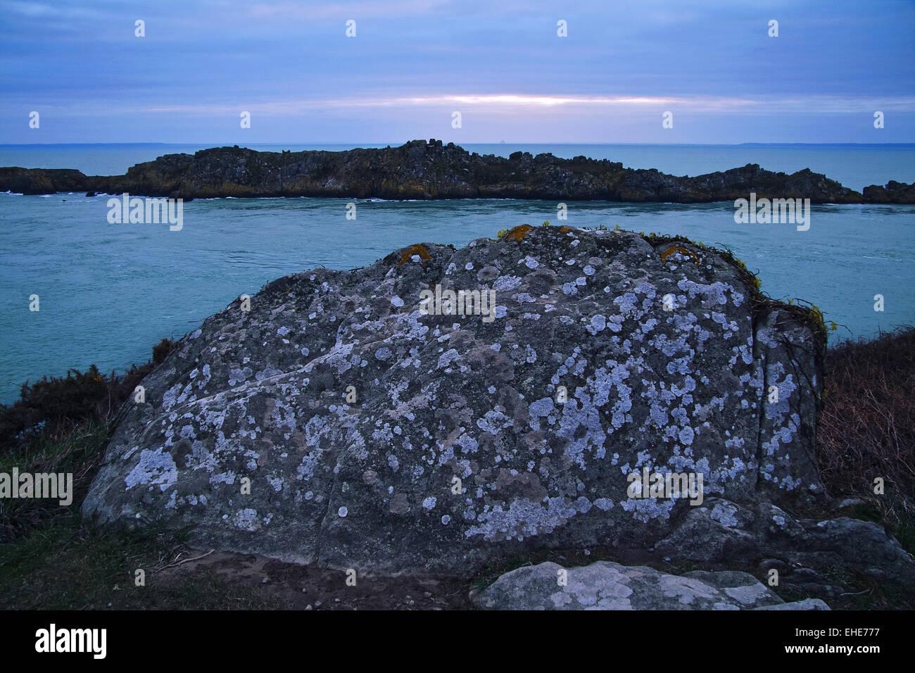 L'île des Landes, Bretagne, France Photo Stock