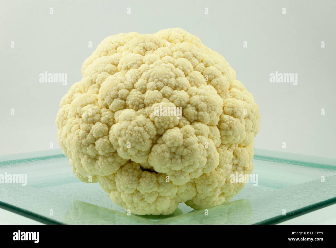 Chou-fleur blanc Photo Stock