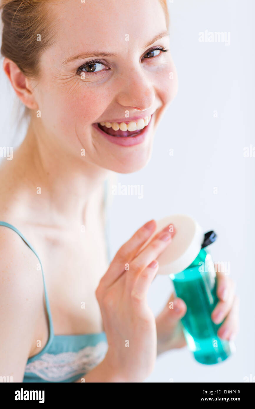 Woman make-up. Photo Stock