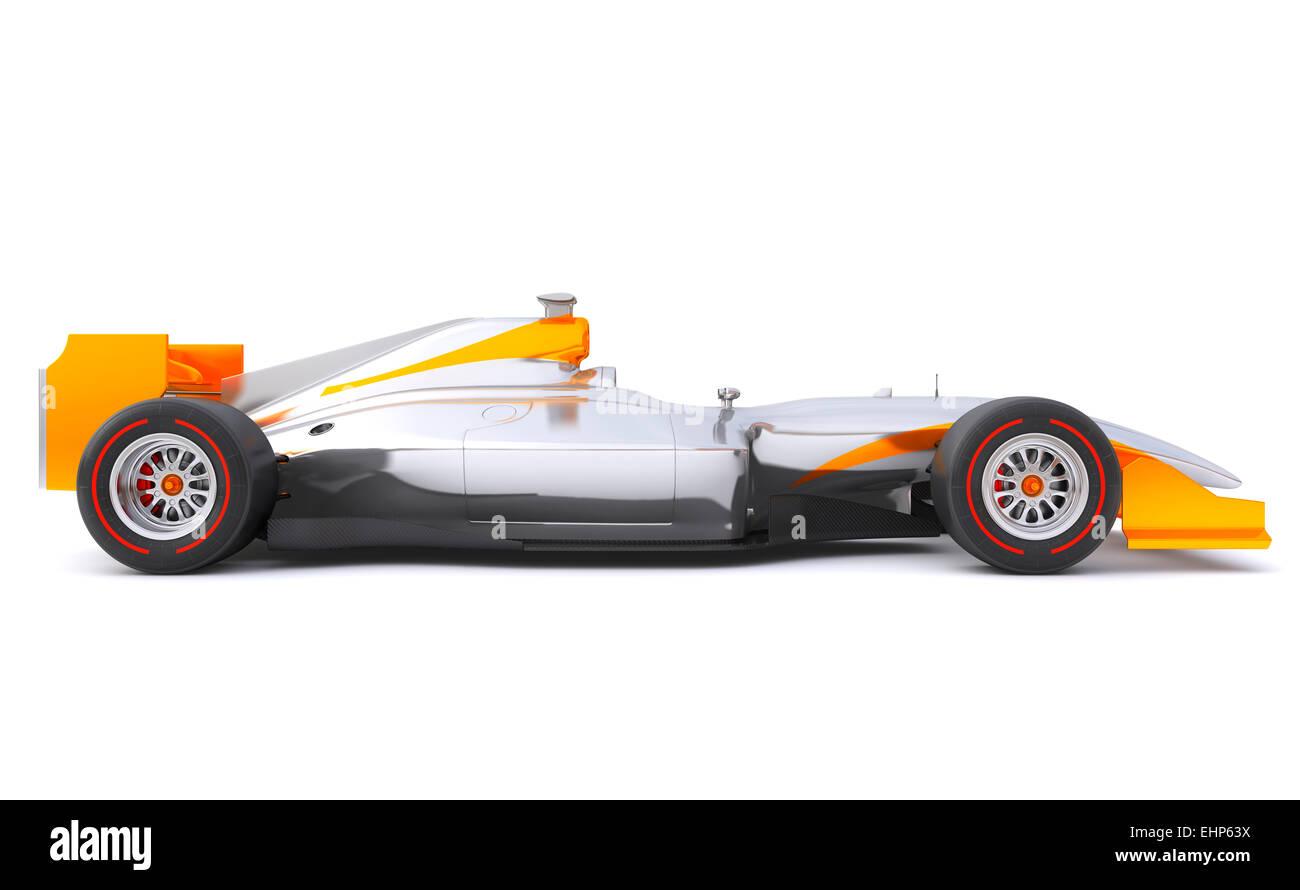 Une voiture sans nom de marque est conçu et modélisé par moi-même Banque D'Images