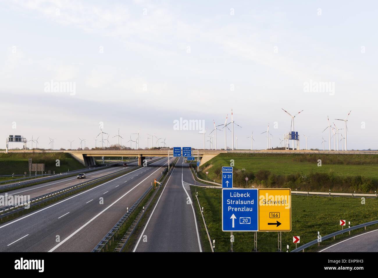 Croisement des routes Photo Stock