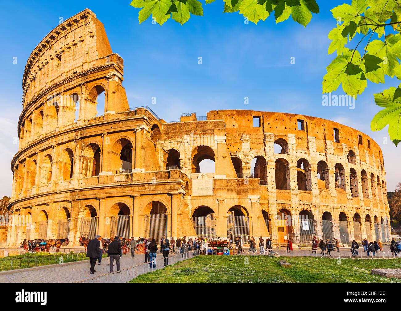 Colisée à Rome Photo Stock