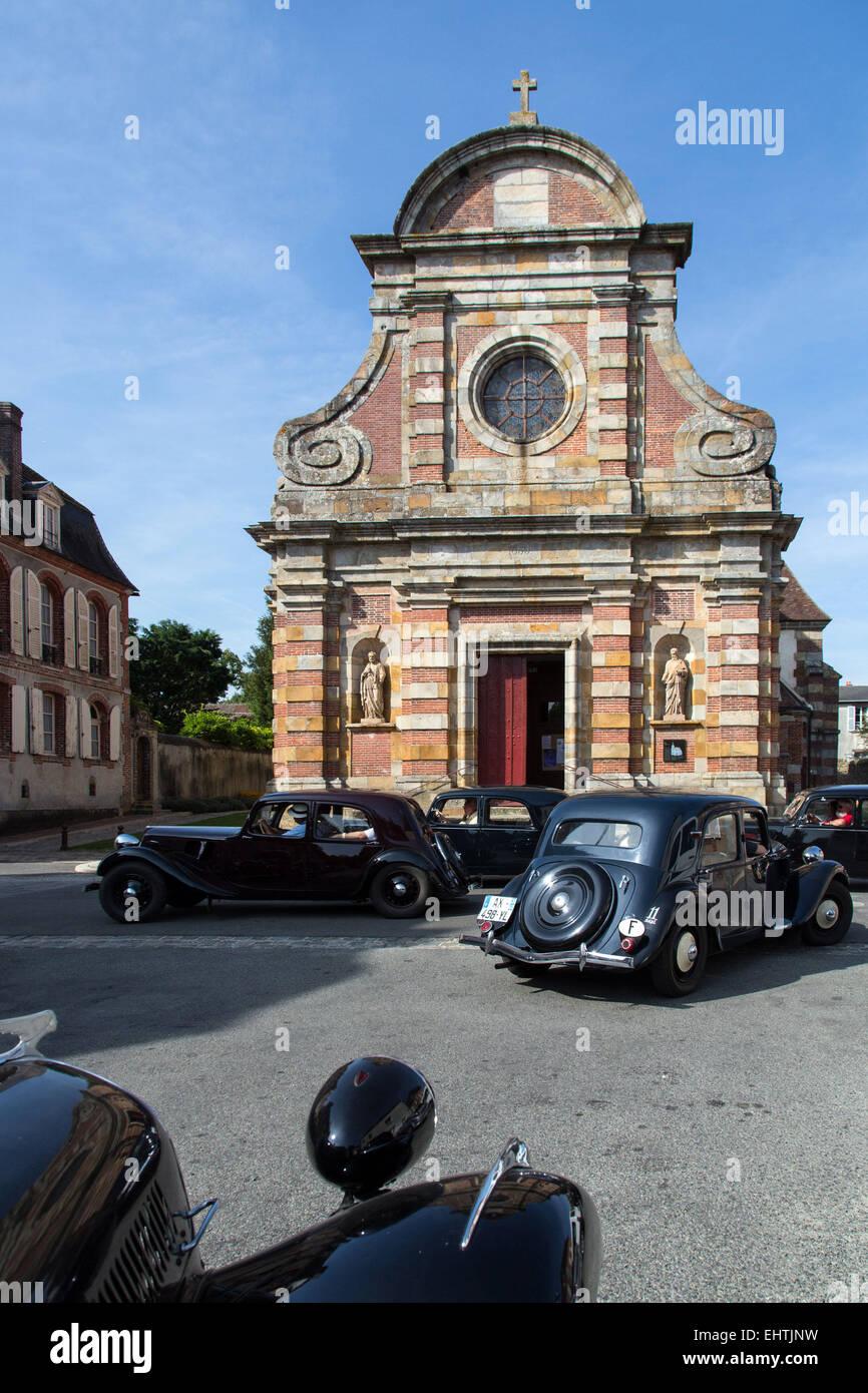 80 ANS DE LA CITROEN TRACTION AVANT 'TRACTION AVANT', FRANCE Photo Stock