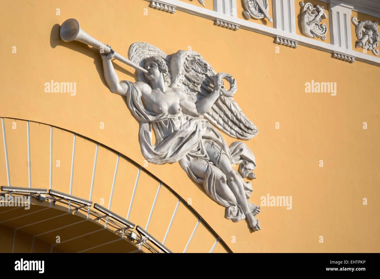 ILLUSTRATION DE LA VILLE DE SAINT PETERSBURG, Russie Banque D'Images