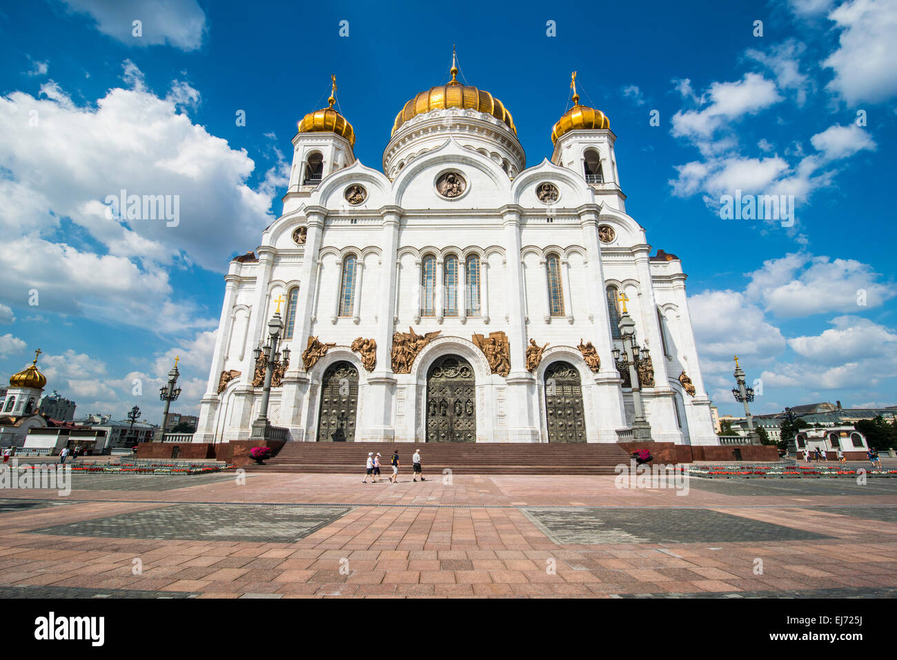 Cathédrale de Christ le Sauveur, Moscou, Russie Photo Stock