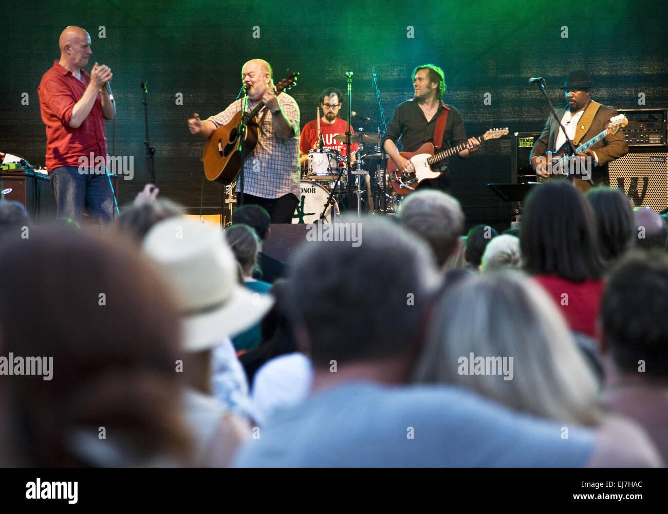 Folk Festival, Witten, Allemagne Photo Stock