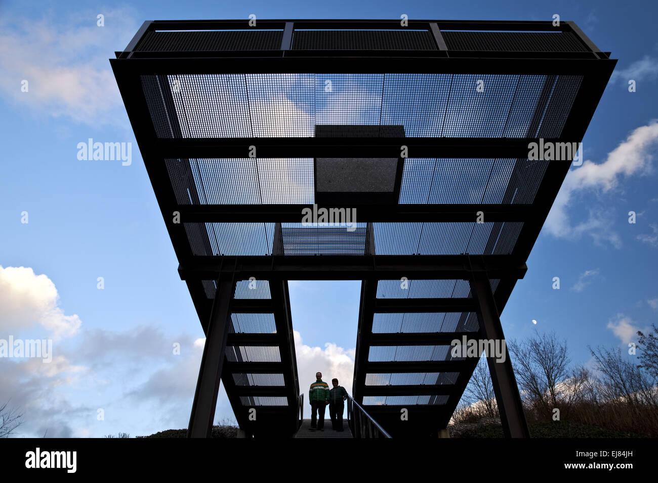 Escaliers Himmelsstiege, Herten, Allemagne Photo Stock