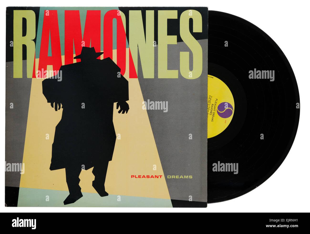 Les Ramones album Rêves agréables Photo Stock