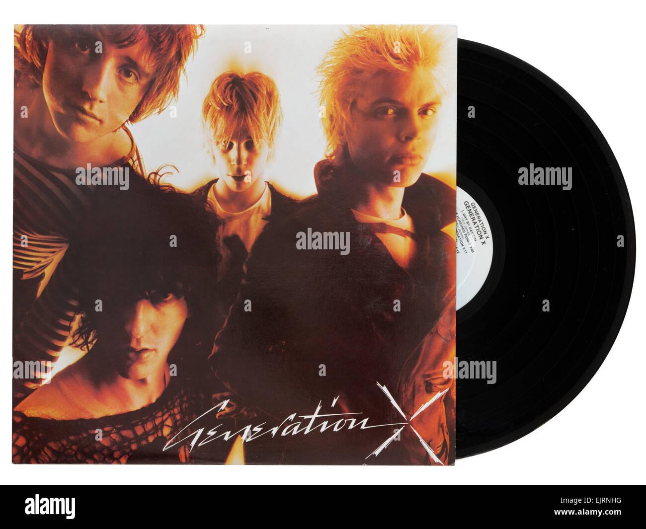 Génération X premier album, avec Billy Idol Photo Stock