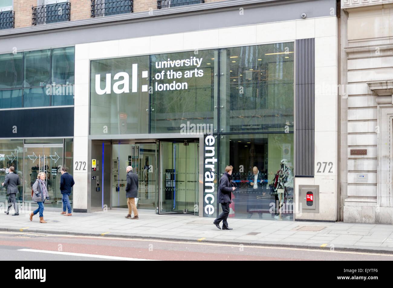 University of the Arts à Londres (UAL), London, UK Photo Stock