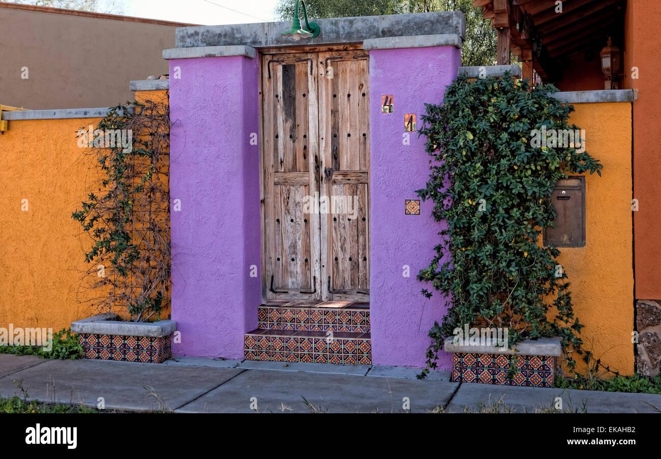 Entrée Accueil Tucson Photo Stock