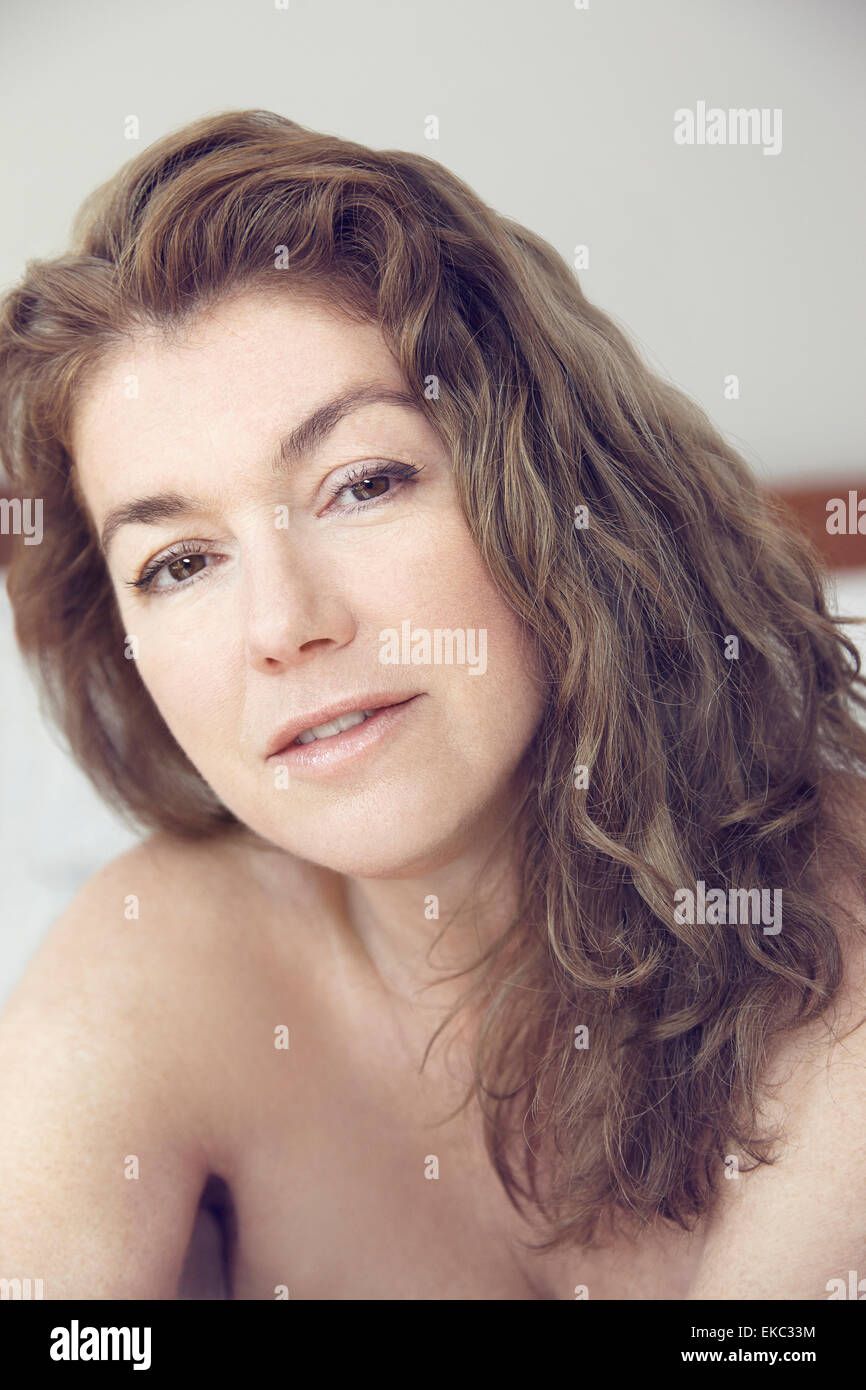 Portrait of young woman Photo Stock