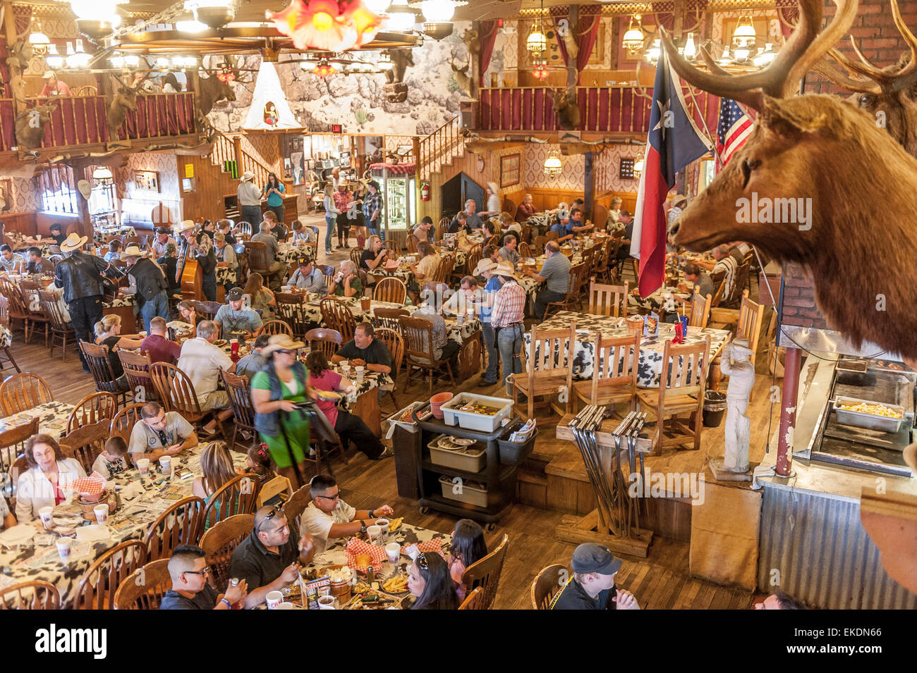 the big texan steak house restaurant photos the big texan steak house restaurant images alamy. Black Bedroom Furniture Sets. Home Design Ideas