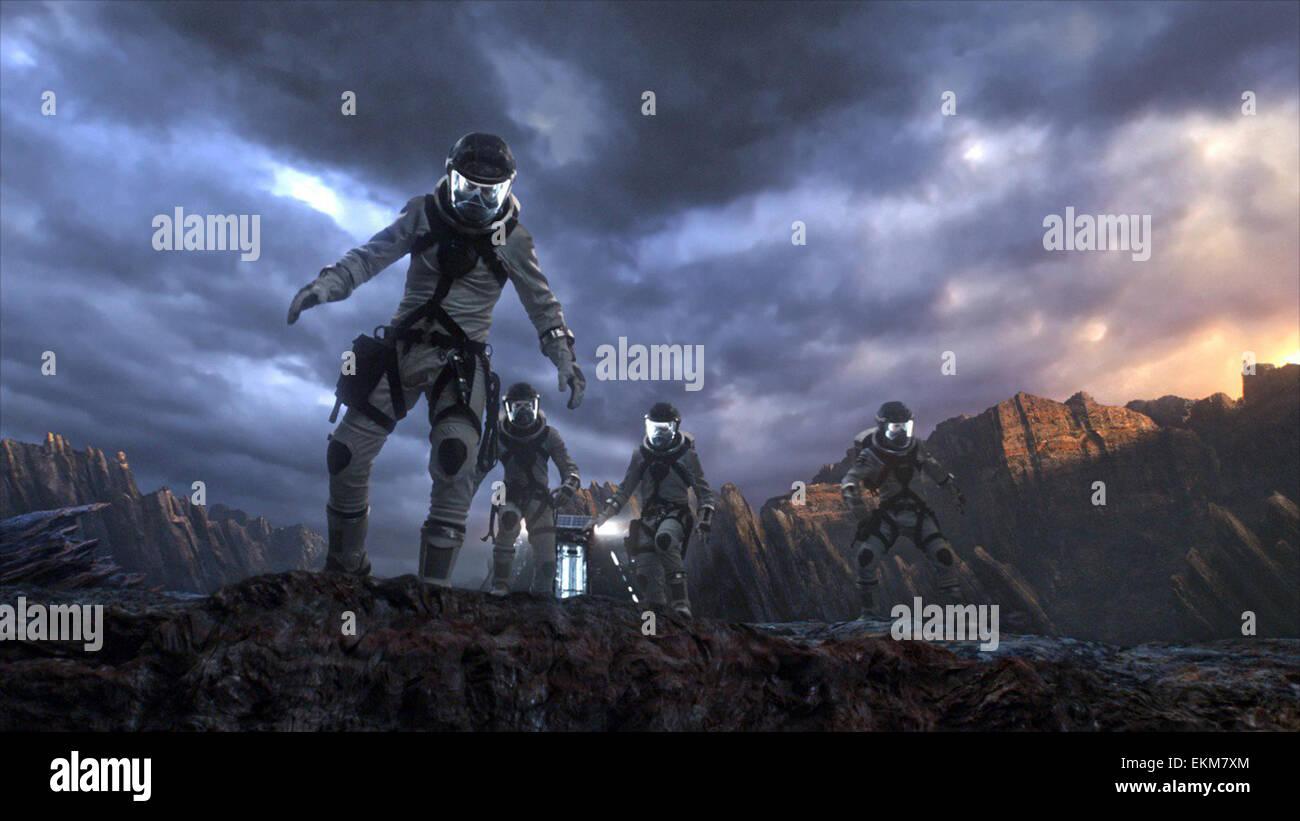 Les Quatre Fantastiques (stylisé comme Fant4stic dans le matériel promotionnel) est un super-héros Photo Stock