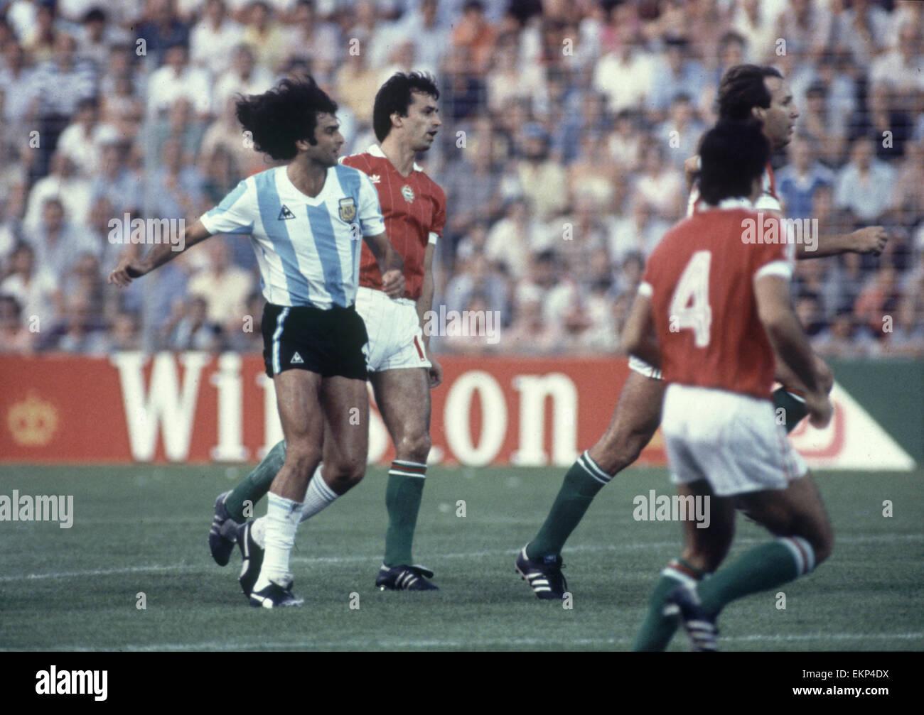 World cup 1982 argentina photos world cup 1982 argentina images alamy - Coupe du monde de foot 1982 ...