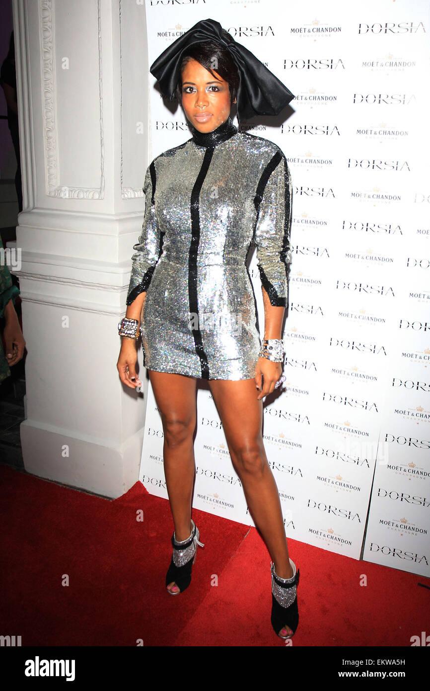 29.septembre.2011. La chanteuse KELIS À LONDRES LE LANCEMENT DE NUIT DORSIA À LONDRES Photo Stock