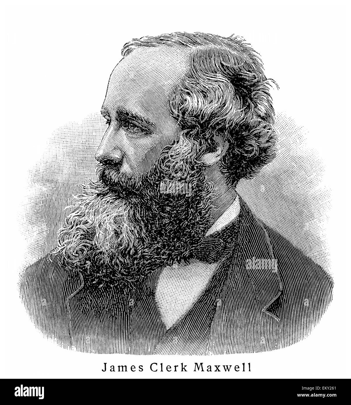 James Clerk Maxwell Photo Stock