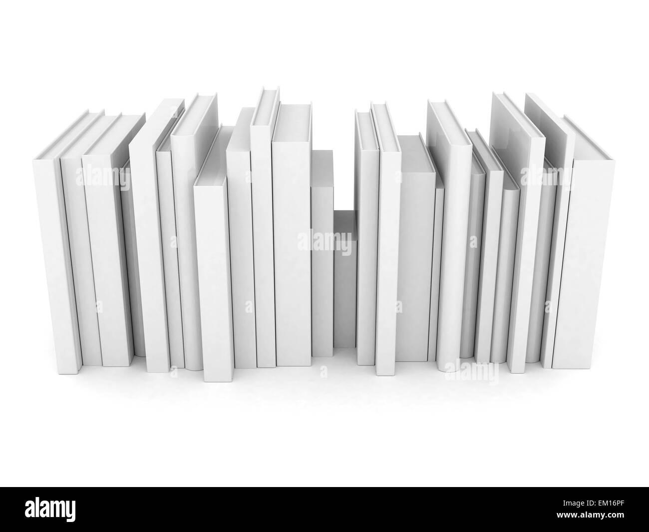 mise en page de livres Photo Stock