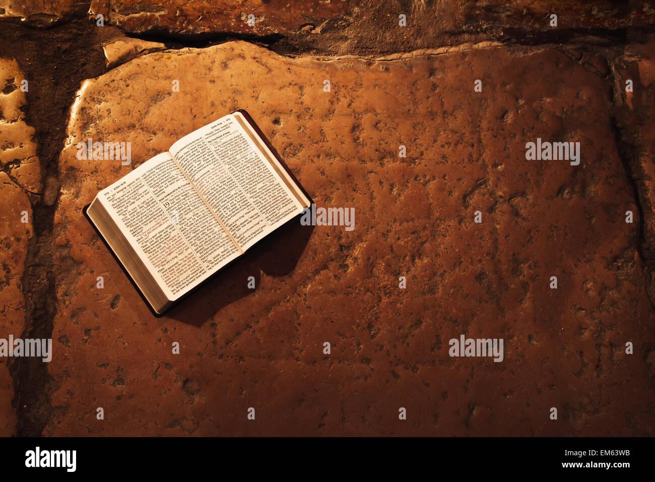Bible, couvent des Soeurs de Sion Banque D'Images