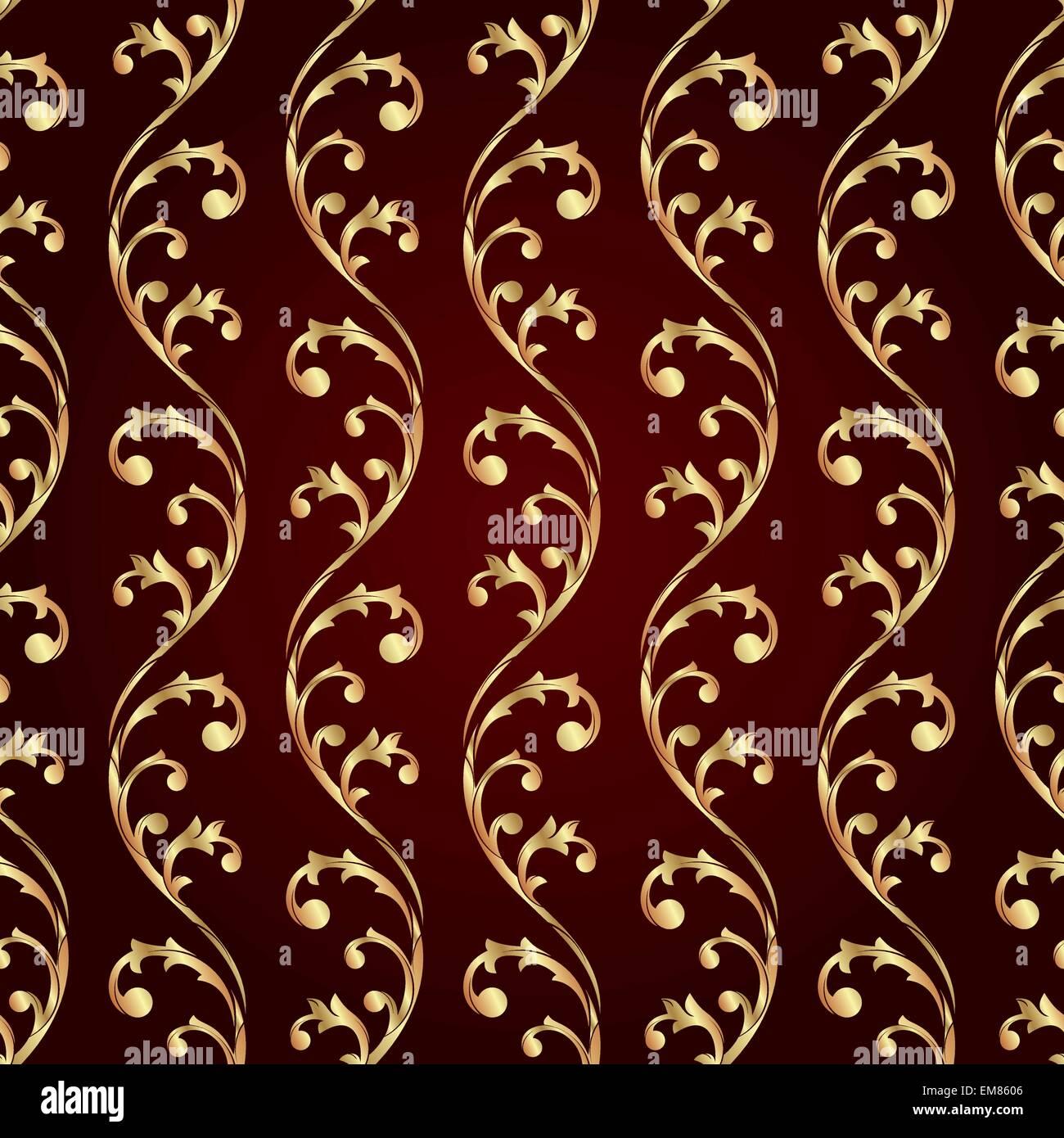 Vintage floral motif transparent Illustration de Vecteur