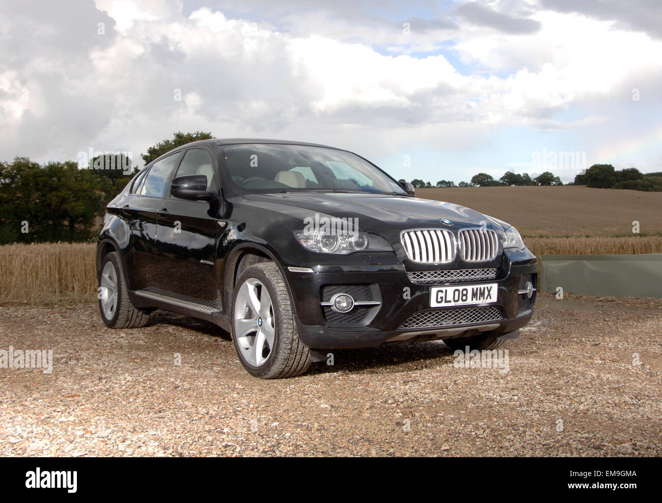 2008 BMW X6 SUV crossover location Photo Stock