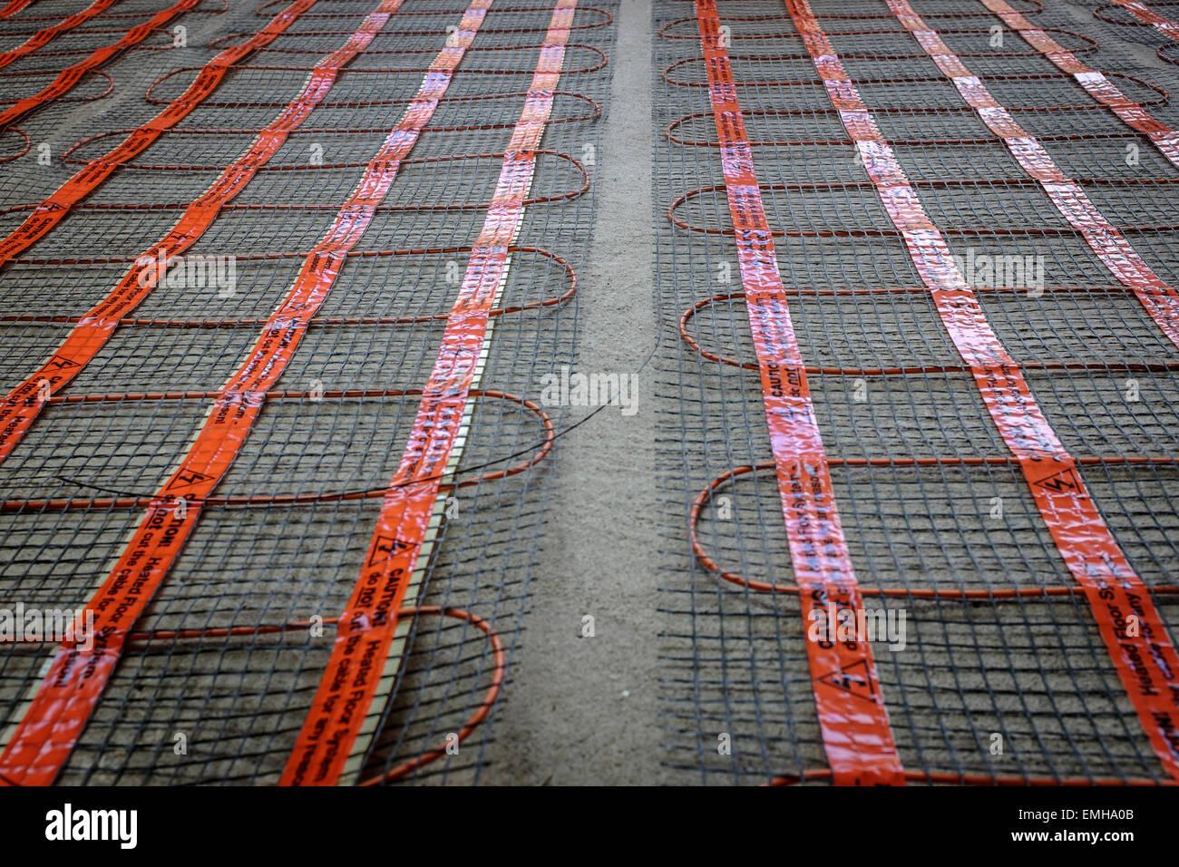 Tapis Sur Chauffage Au Sol chauffage au sol ; l'installation de tapis et de soutien