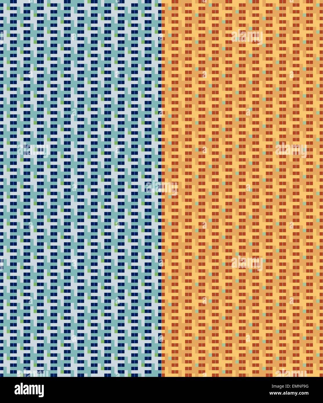 Ensemble de milieux modèle transparent géométrique Photo Stock