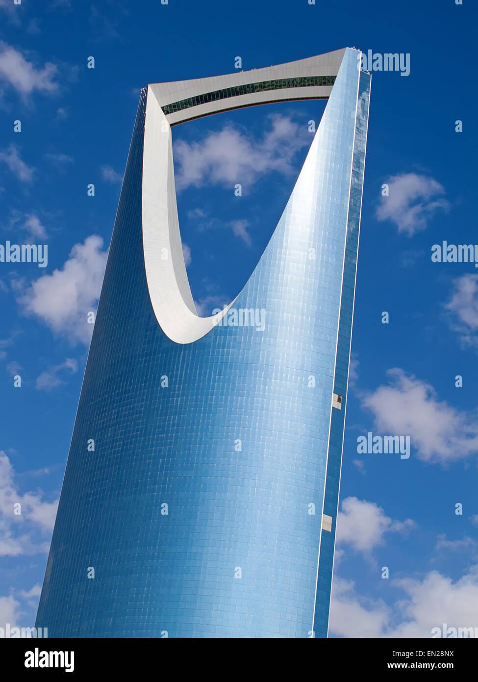 RIYADH - 22 DÉCEMBRE: Kingdom Tower le 22 décembre 2009 à Riyad, en Arabie Saoudite. Kingdom Photo Stock