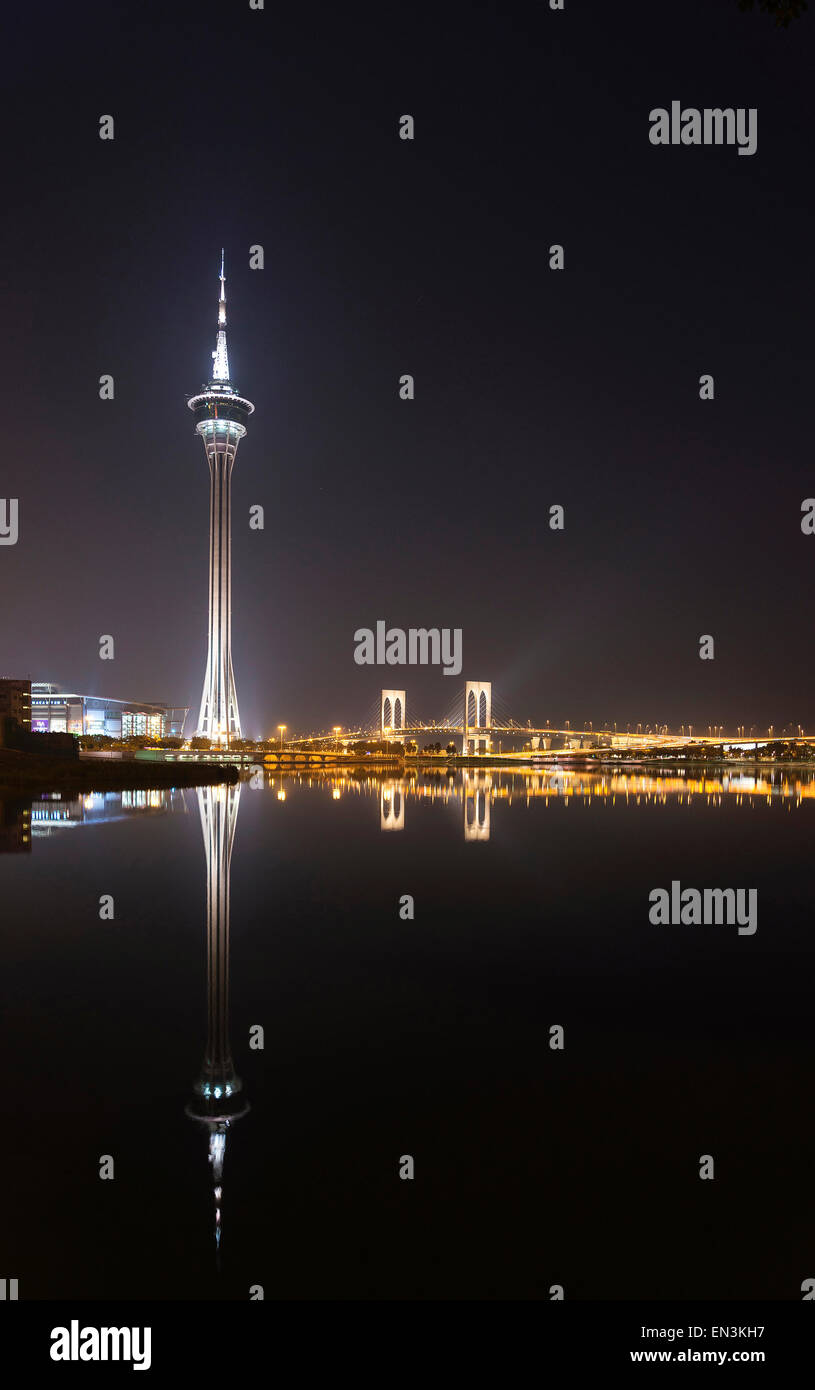 La tour de Macau monument à Macao Macao Chine Photo Stock