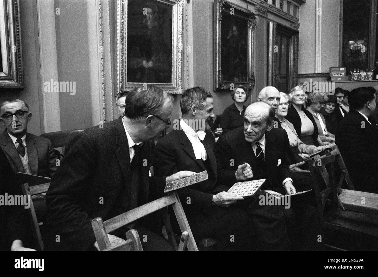 A. L. P. Norrington, Président, Trinity College d'Oxford, le 14 décembre 1966. Arthur Lionel Pugh Photo Stock