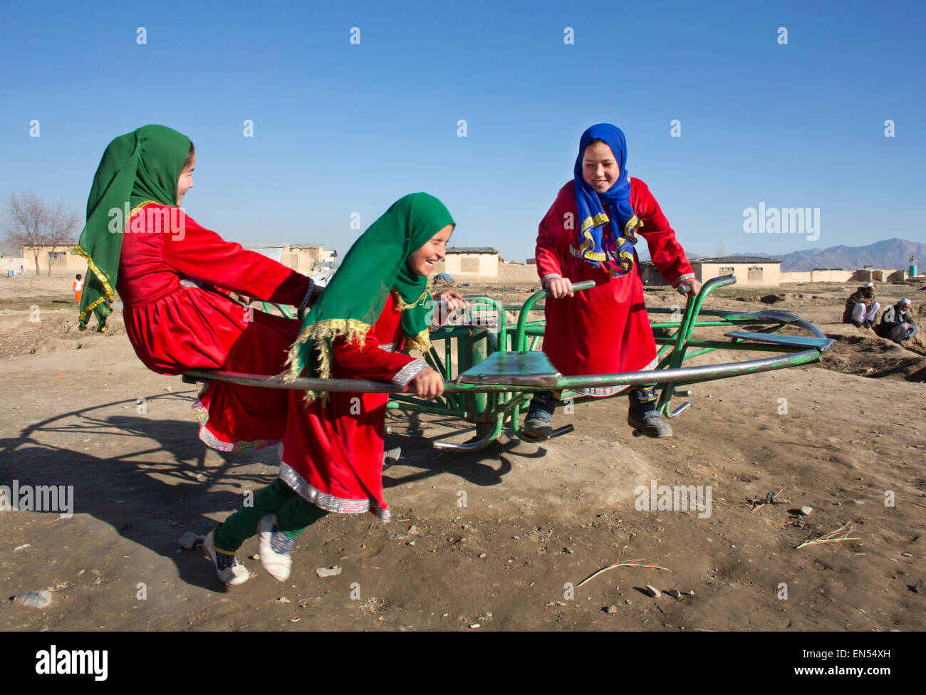 Les étudiantes à Kaboul Photo Stock