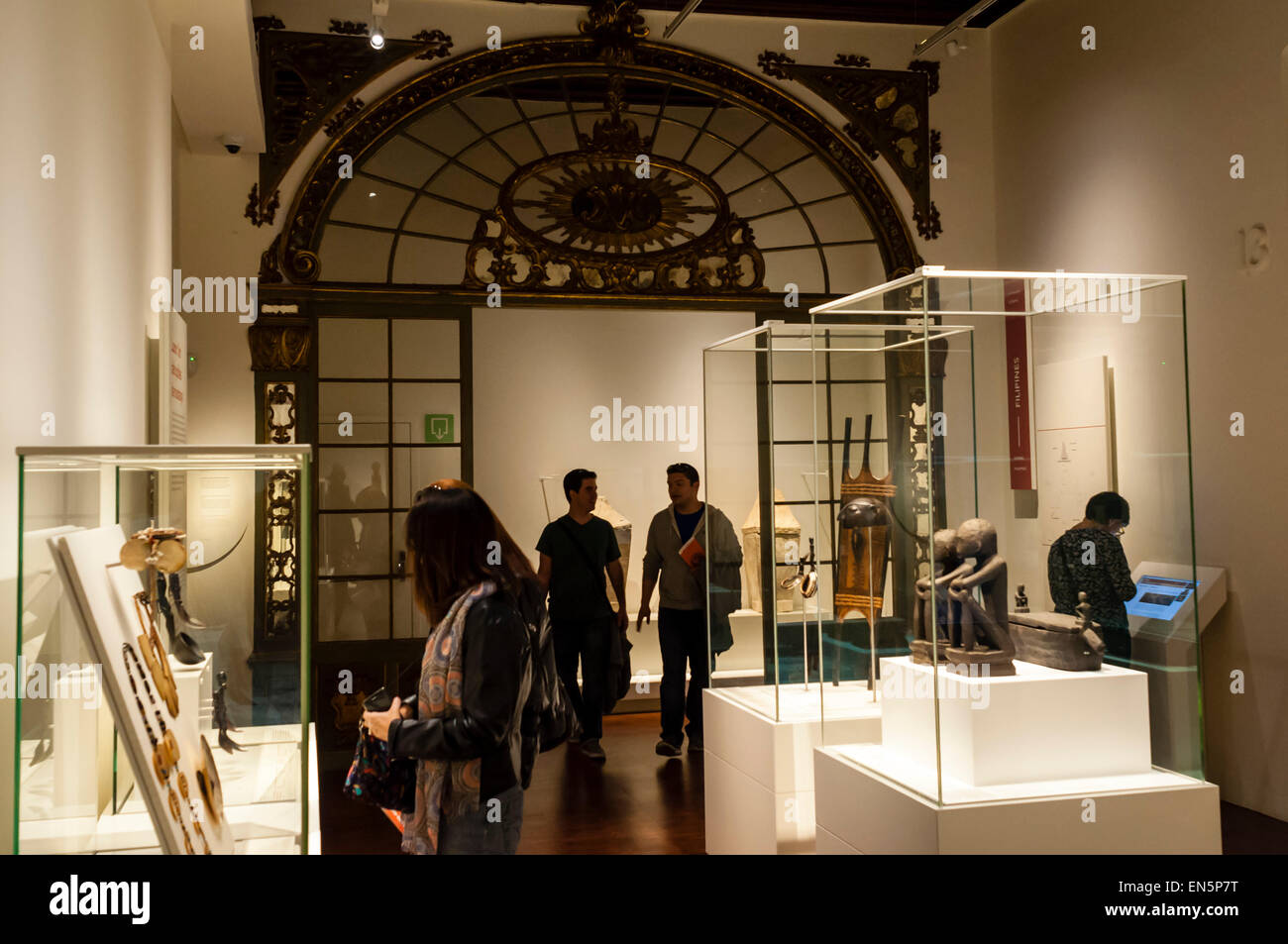 Museu de cultures del món, Barcelone, Catalogne Photo Stock