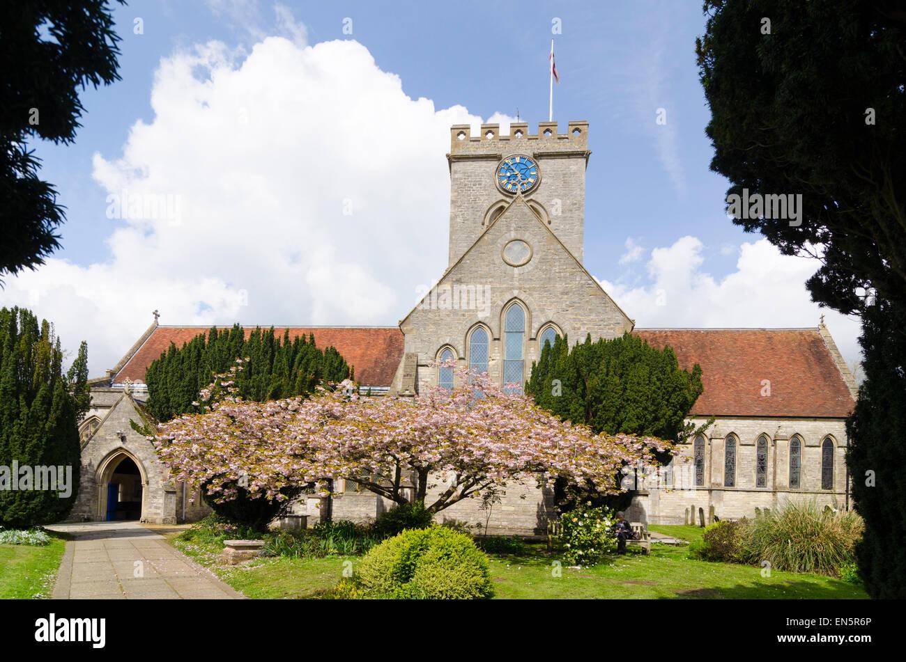 L'église paroissiale de Saint Pierre et Saint Paul Ringwood Banque D'Images