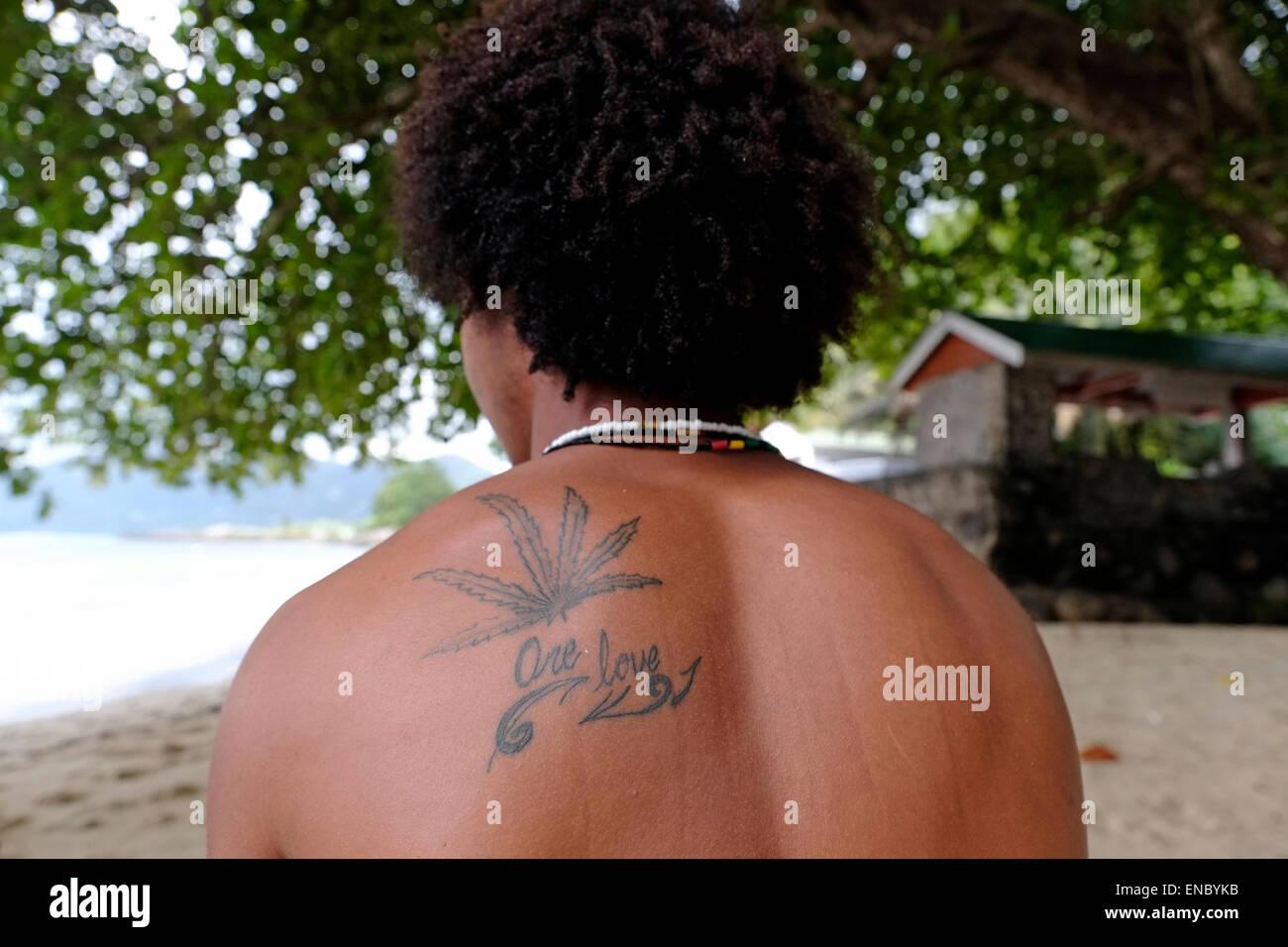 Cannabis Tattoo Photos Cannabis Tattoo Images Alamy