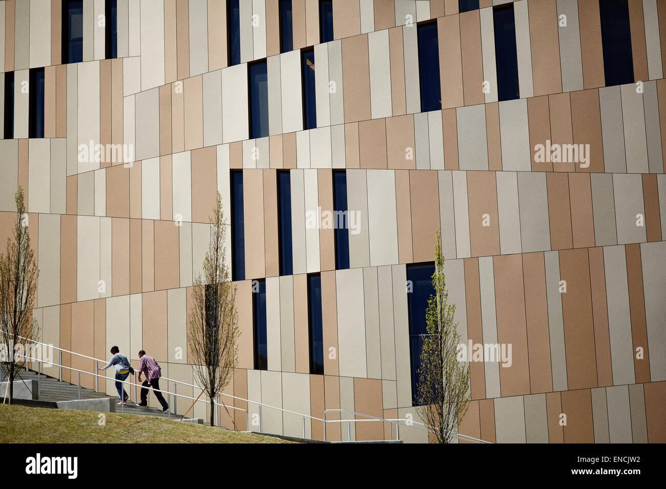 Le centre-ville d'Atlanta en Géorgie AUX ETATS UNIS Photo: Le Centre pour les droits civils et humains Photo Stock